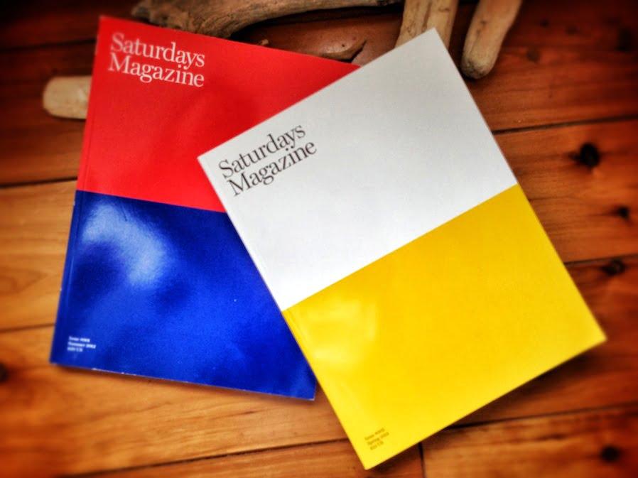 赤青の表紙は1号、黄色白が2号